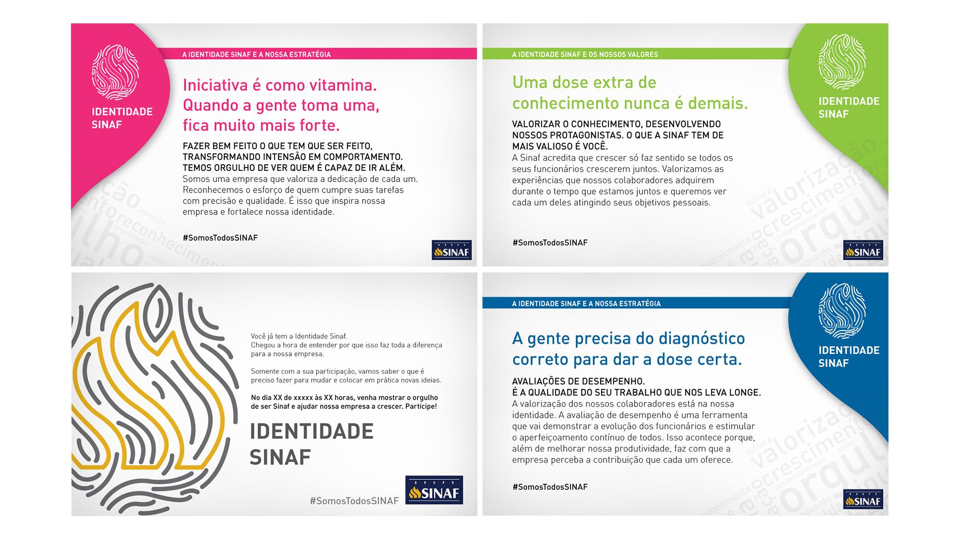 Identidade Sinaf Desenvolvimento De Conceito Visual E